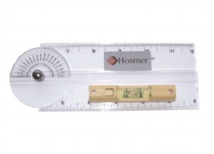 GONIOMETER WITH SPIRIT LEVEL