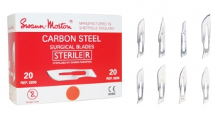 <b>Swann-Morton</b> Red Carbon Steel Surgical Blades (BSN)