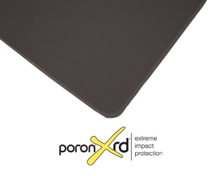 <b>Poron</b> XRD Black - Abraded One Side (1AB)