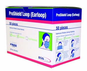 Proshield Earloop Masks (BSN)