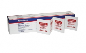 Medi-swab Cleansing Swabs (70% Isopropyl Alcohol) (2 Ply) Sterile Bx 200 (<b>BSN</b>)