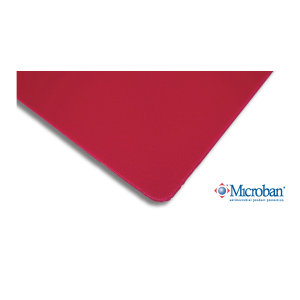 <b>Poron</b> 92 (Red) Ultra Soft - Abraded On Both Sides (2AB)