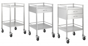 STAINLESS STEEL SINGLE TROLLEY