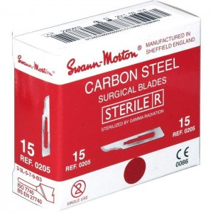 Swann Morton Carbon Sterile (Red Packet)
