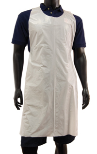 Plastic Aprons - White - Pack of 100